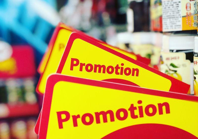 プロモーション 宣伝 広告 販売促進