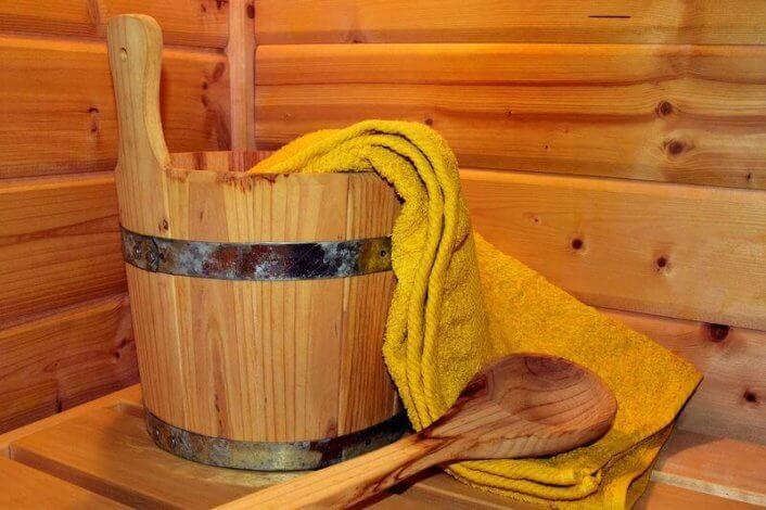 桶 タオル