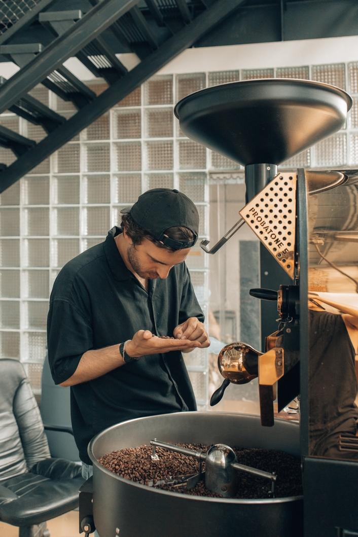 コーヒースタンド 焙煎